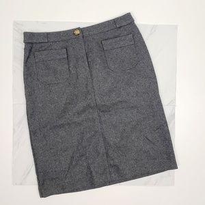Kors Michael Kors Vintage Wool Pencil Skirt Size 8